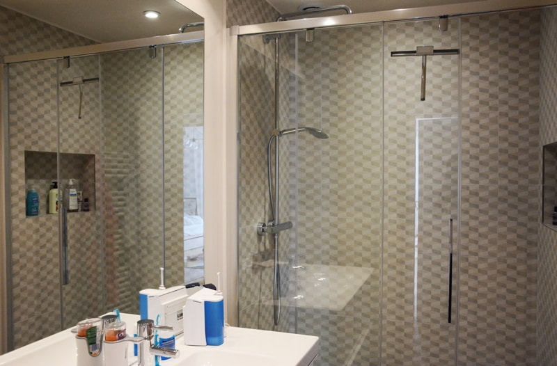 Création de la nouvelle salle de bains