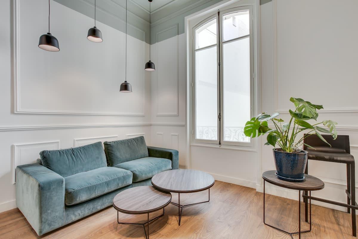 Espace d'accueil | Rénovation des bureaux pour un cabinet d'avocats