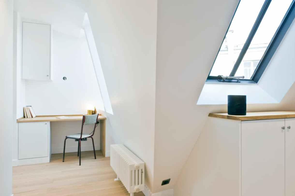 Redistribution des pièces d'un appartement