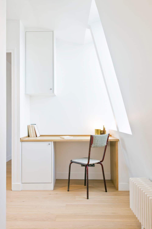 Petit bureau sous pente