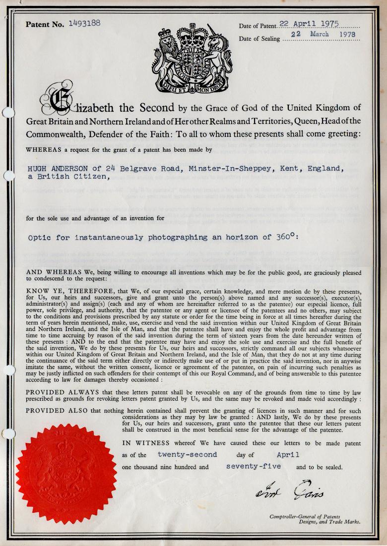 Patent No. 1493188