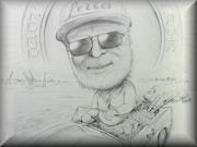 Retirement-Caricature