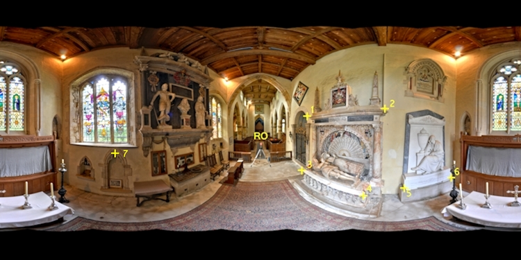 St Mary's Vertical Separation Panoramas High