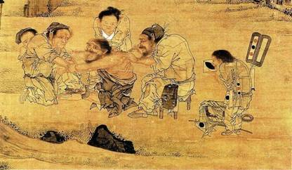Ancient Chinese dentistry