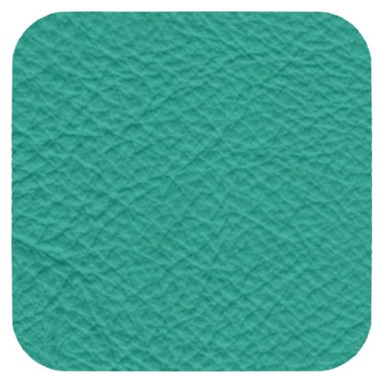 matt turquoise leather