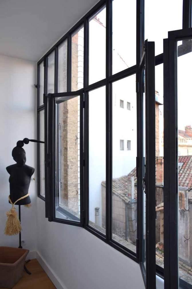 Baie vitrée loggia - avignon (84)