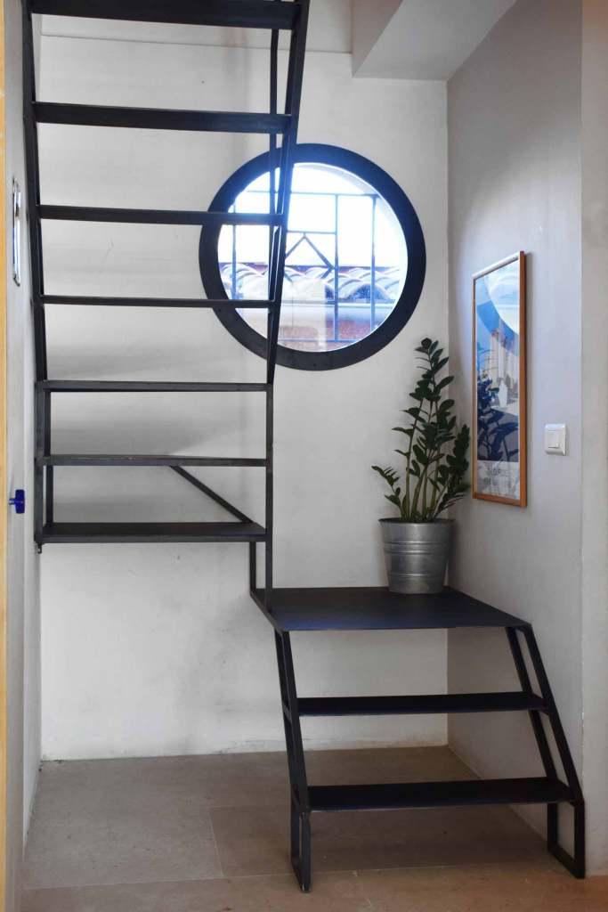 Escalier à faible emprise au sol - Sorgues (84)