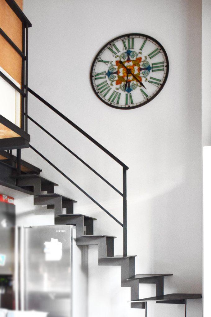 Escalier limon crémaillère - hugo ferronnerie