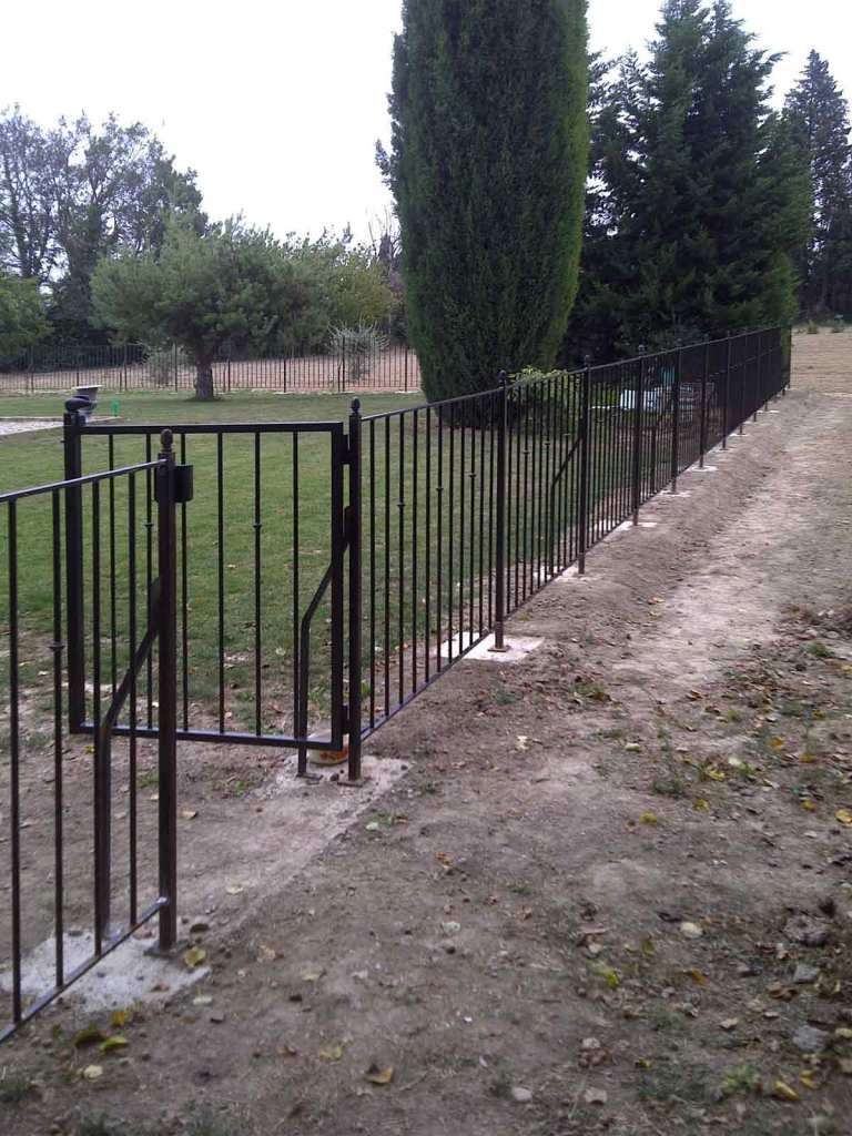 Barrière de sécurité pour piscine - hugo ferronnerie