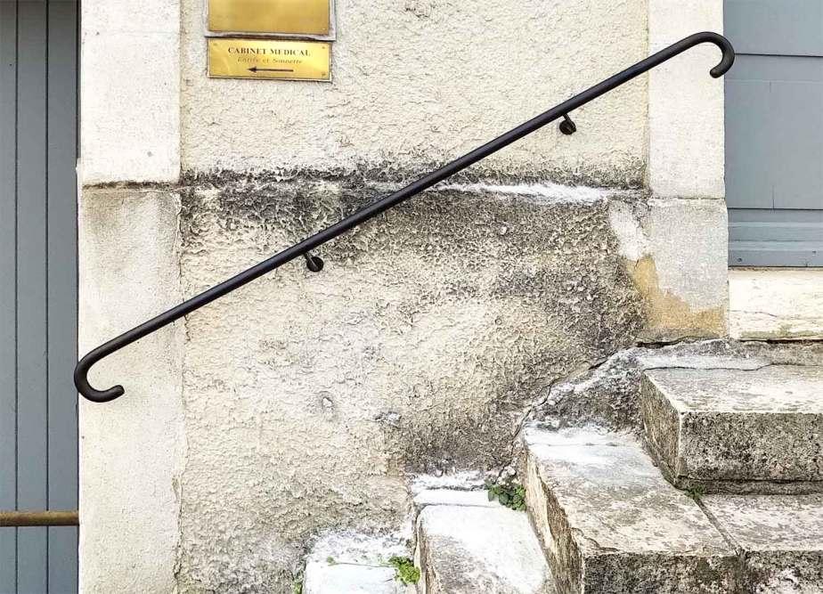Main courante forgée - Avignon 84