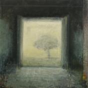 """<h5>Ouverture</h5><p>Oil on canvas, 78¾"""" x 78¾""""</p>"""