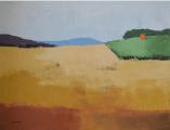 """<h5>To Cut Across Country</h5><p>Oil on canvas, 35"""" x 45"""" (89 x 114 ¼cm)</p>"""