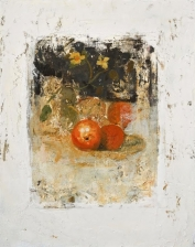 """<h5>Still Life II</h5><p>Oil and wax on canvas, 19¾"""" x 15¾""""</p>"""