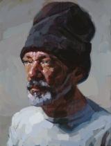 """<h5>Autoportrait 1913</h5><p>Oil on Canvas, 24"""" x 18"""" (61 x 46cm)</p>"""