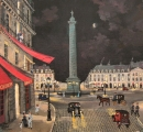 "<h5>La Place Vendome</h5><p>Acrylic on board, 12"" x 13"" (30.5 x 33cm)																																																																																																																							</p>"