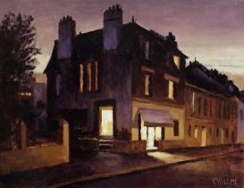 "<h5>Dans La Lumière </h5><p>Oil on canvas, 14"" X 10½"" (36cm x 27cm)</p>"