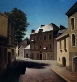 "<h5>Macondo </h5><p>Oil on canvas, 59"" x 55""(150cm x 140cm)</p>"