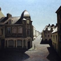 "<h5>La Coupole </h5><p>Oil on canvas, 39½"" x 39½"" (100cm x 100cm)</p>"