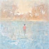 """<h5>Walking on Water</h5><p>Acrylic on canvas, 48 x 48"""" (122 x 122cm)</p>"""