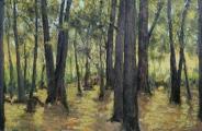 """<h5>Sous Bois</h5><p>Oil on canvas, 59¼"""" x 90½"""" (150 x 230cm)</p>"""