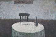 """<h5>Le Couvert</h5><p>Oil on canvas, 38¼"""" x 57½"""" (97 x 146cm)</p>"""