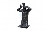 "<h5>King Minos (3/4 study)</h5><p>bronze, 19½"" x 12 ¾"" x 9½"",(49.5 x 32.3 x 24cm) </p>"