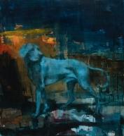 "<h5>A Hidden Page</h5><p>Oil on canvas, 60"" x 55"" (152 x 140cm)</p>"