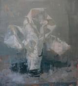 """<h5>Anniversary no. 10</h5><p>Oil on canvas, 60"""" x 54"""" (152.4 x 137.2cm)</p>"""