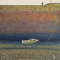 """<h5>Un Marin à Terre</h5><p>Oil on board, 15¾"""" x 15¾"""" (40 x 40cm)</p>"""