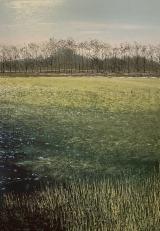 """<h5>Ombre en hiver</h5><p>Oil on canvas, 39½"""" x 27½"""" (100 x 70cm)</p>"""