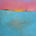"""<h5>Clear Field</h5><p>Oil on canvas, 31½"""" x 31½"""" (80 x 80cm)</p>"""