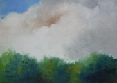 "<h5>We Love Green</h5><p>Oil on canvas, 25½"" x 36¼"" (65 x 92cm)</p>"