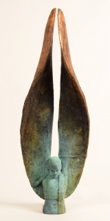 "<h5>Helicoide II/3</h5><p>Bronze, 26¼ x 9 x 4¾"" (67 x 23 x 12cm)</p>"