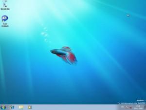 Windows 7 Beta 700 - Ambiente de Trabalho