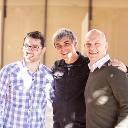 Matt Rogers, Larry Page, Tony Fadell
