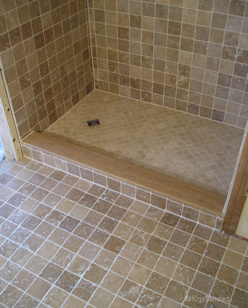 Conversion Bain Douche Cramiques Hugo Sanchez Inc