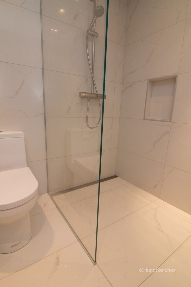 Image Result For How To Build A Walk In Shower Without Door