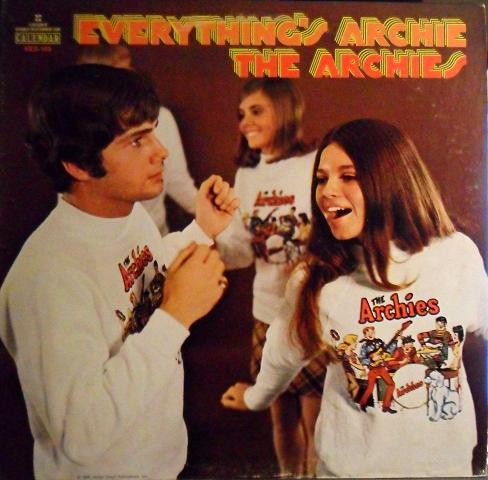 the archies – everything's archie 1969 front