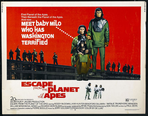 1971 Escape from the planet of the apes - Huida del planeta de los simios (ing) (hs)-001