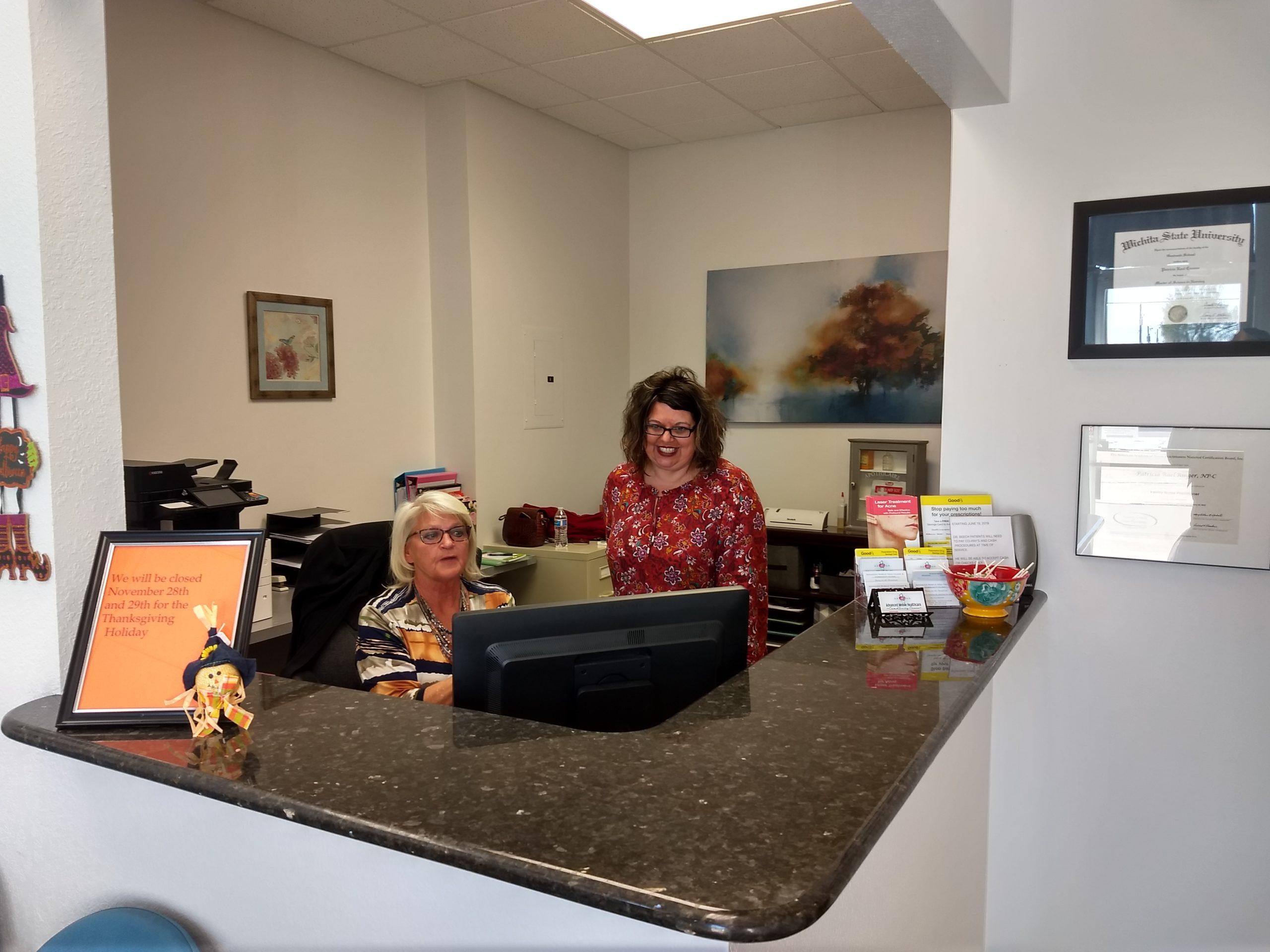 Front Desk in Goddard