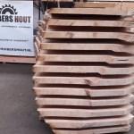 Boomstam planken t/m 110CM!