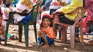 Huichol Girl in Ceremony