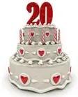 20 jaar getrouwd