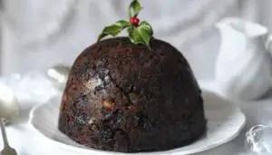echte engelse kerstpudding