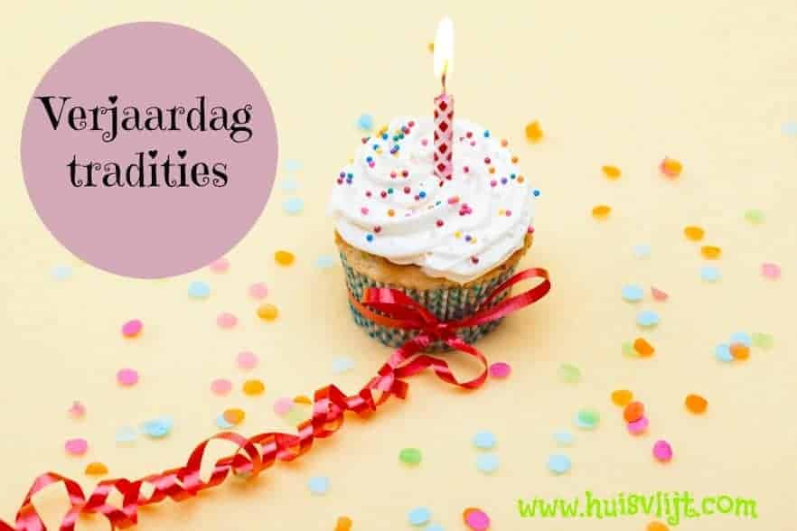 verjaardag tradities