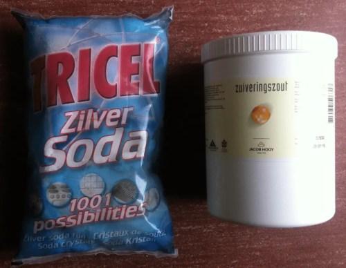 baking soda versus huishoud soda