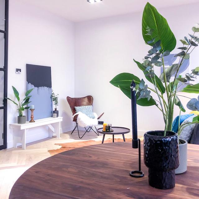 Tijdelijke inrichting van een te koop staande woning in Haarlem