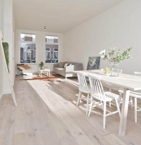 Tijdelijke inrichting van een woning voor de verkoop in Haarlem