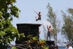 ハワイ島フォト日記 ココナツアイランドの高飛び込み!!!