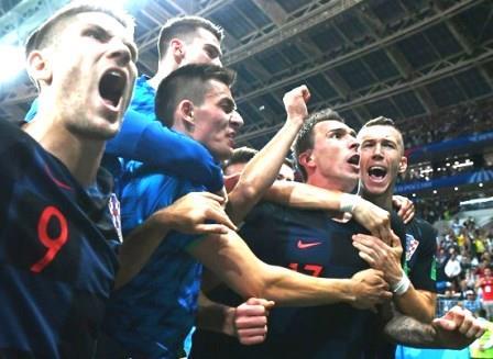 इङ्ल्यान्डमाथी क्रोशियाको ऐतिहासिक जित, पहिलो पटक विश्वकपको फाइनलमा